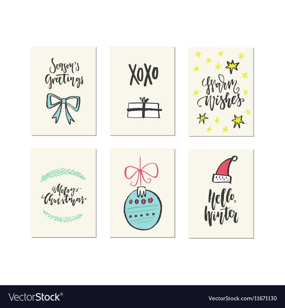 Christmas Card Templates With Christmas Note Card Templates