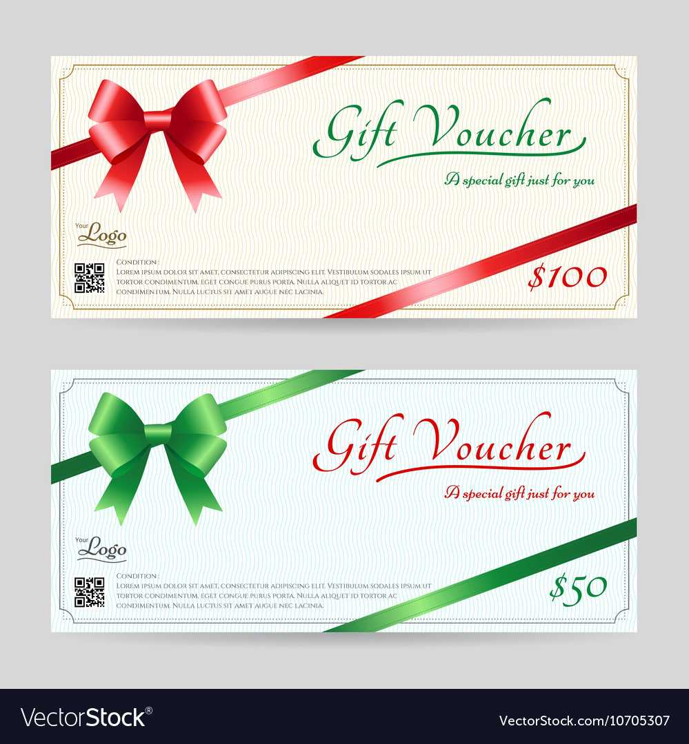 Christmas Gift Card Or Gift Voucher Template Throughout Christmas Gift Certificate Template Free Download