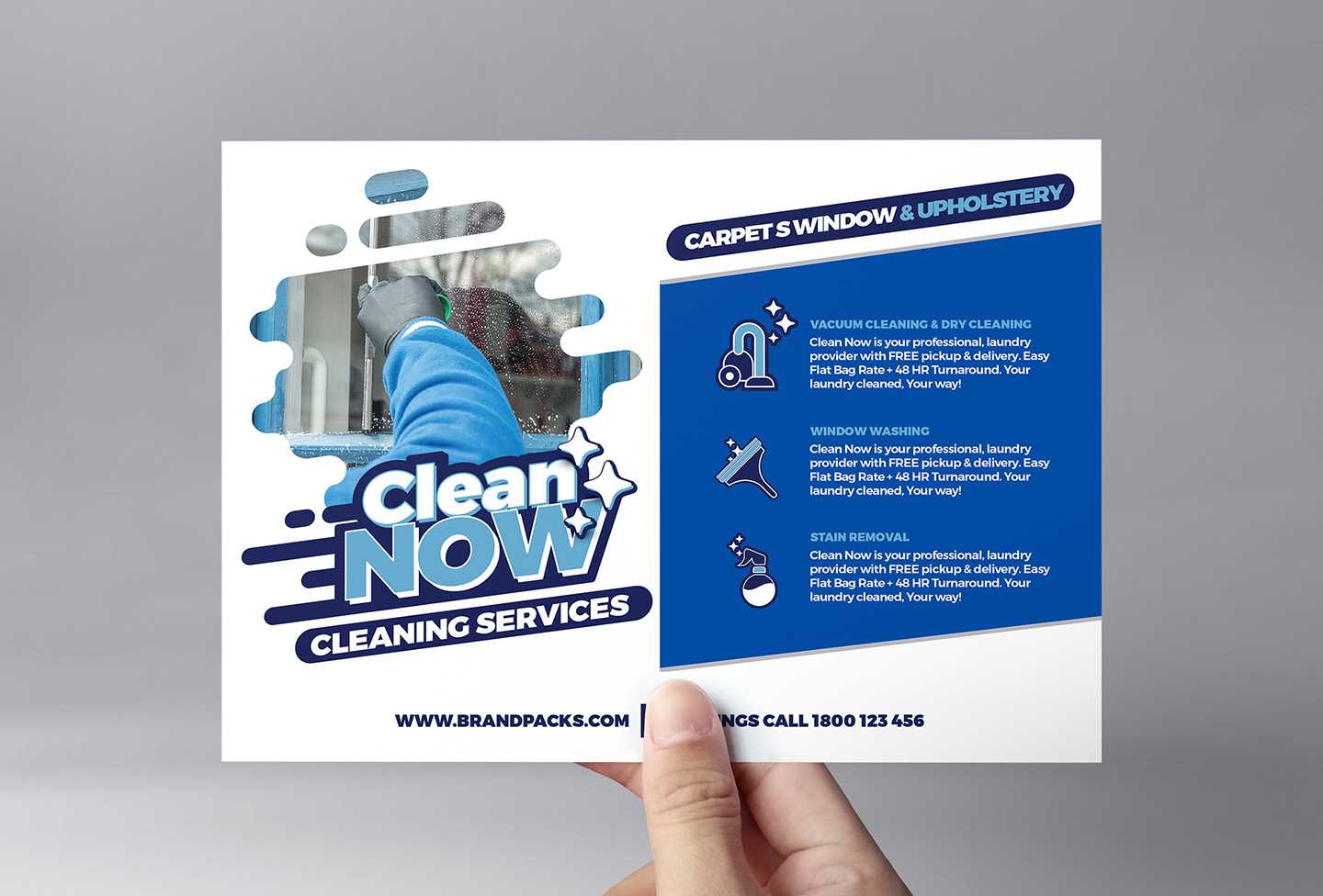 Cleaning Service Flyer Template In Psd, Ai & Vector - Brandpacks Regarding Cleaning Brochure Templates Free