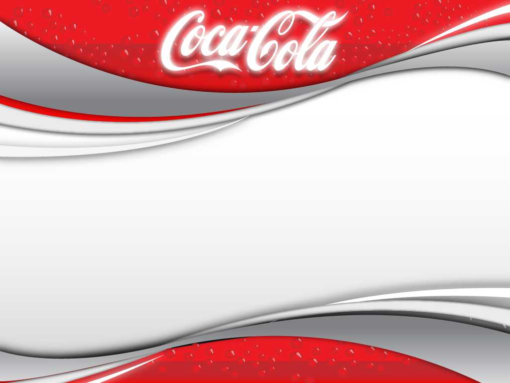 Coca Cola 2 Background For Powerpoint - Miscellaneous Ppt Intended For Coca Cola Powerpoint Template