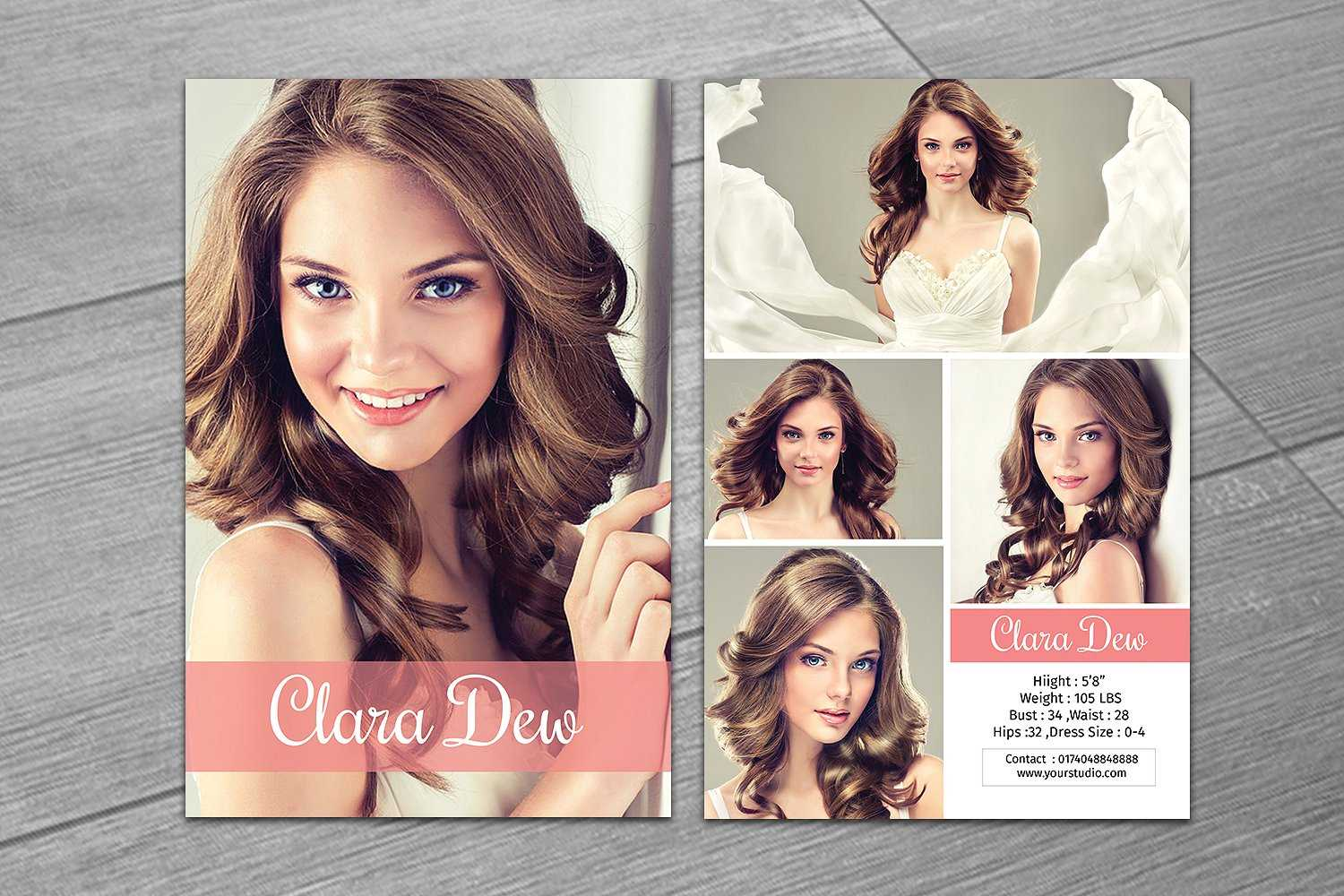 Comp Cards For Modeling – Karan.ald2014 With Comp Card Template Download