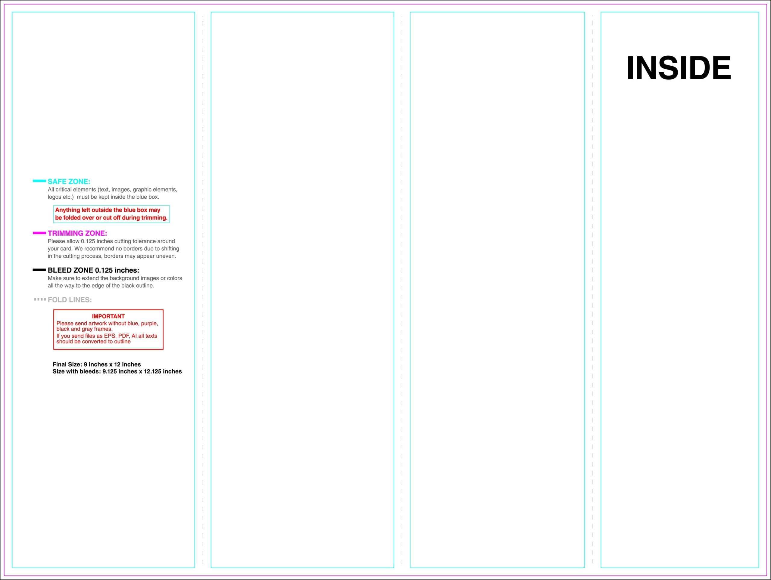 Copy Of Science Brochure Template Google Docs Outline Within Science Brochure Template Google Docs
