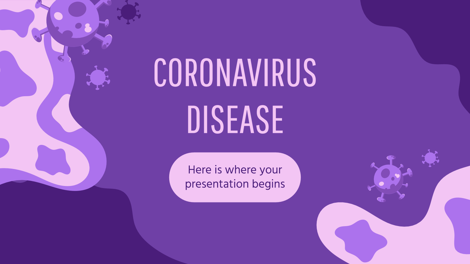 Coronavirus Disease Google Slides Theme And Powerpoint Template With Regard To Virus Powerpoint Template Free Download