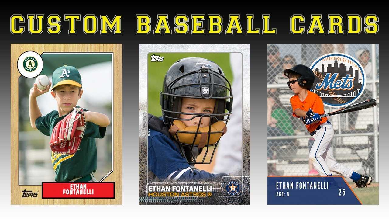 Create Your Own Baseball Cards Regarding Custom Baseball Cards Template