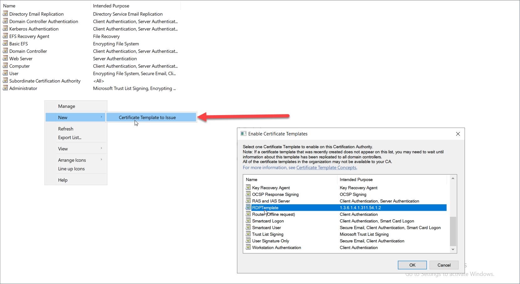 Настройка Tls Для Rdp Подключений   Блог Александра Ткаченко In Active Directory Certificate Templates