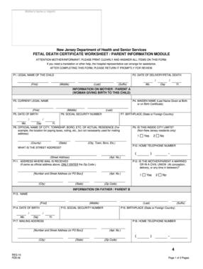 Death Certificate Form - Fill Online, Printable, Fillable regarding Baby Death Certificate Template