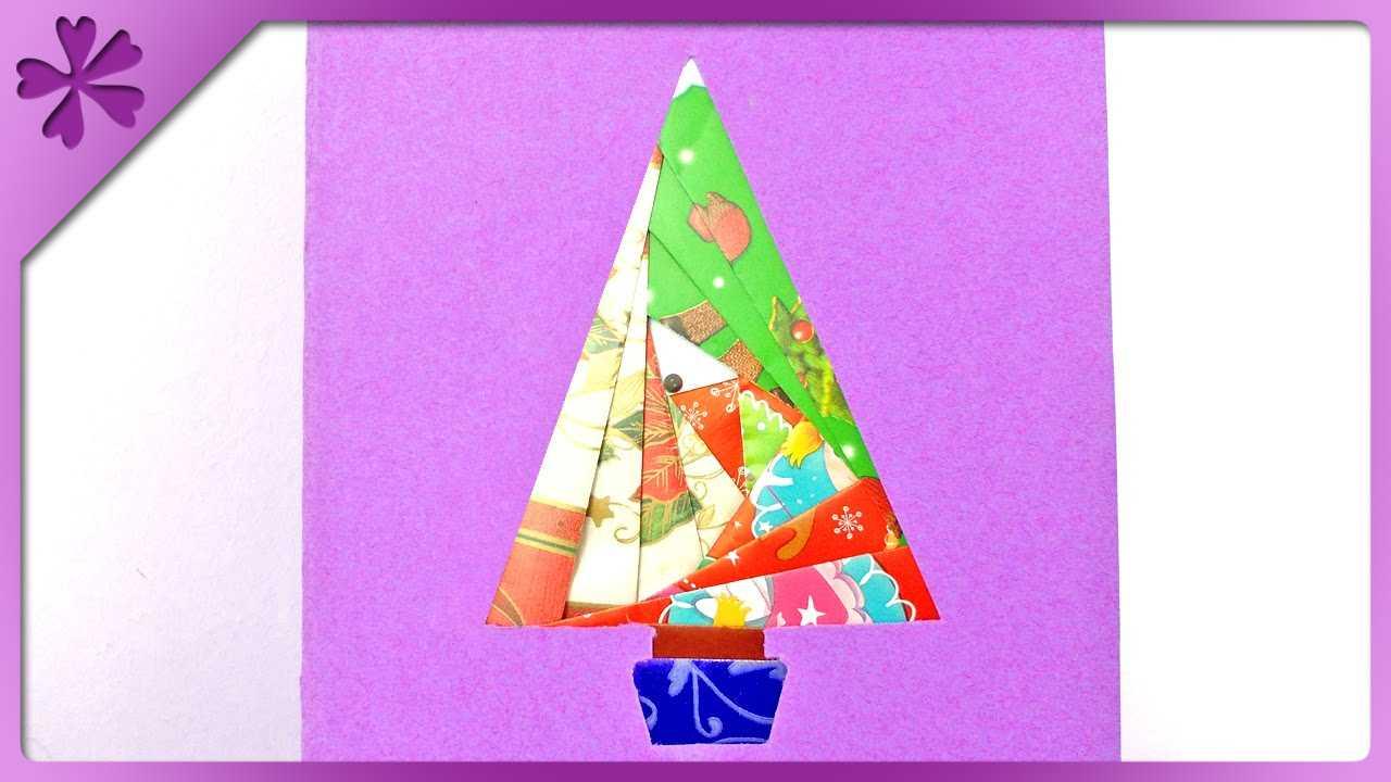 Diy Iris Folding Christmas Card (Eng Subtitles) - Speed Up #152 intended for Iris Folding Christmas Cards Templates