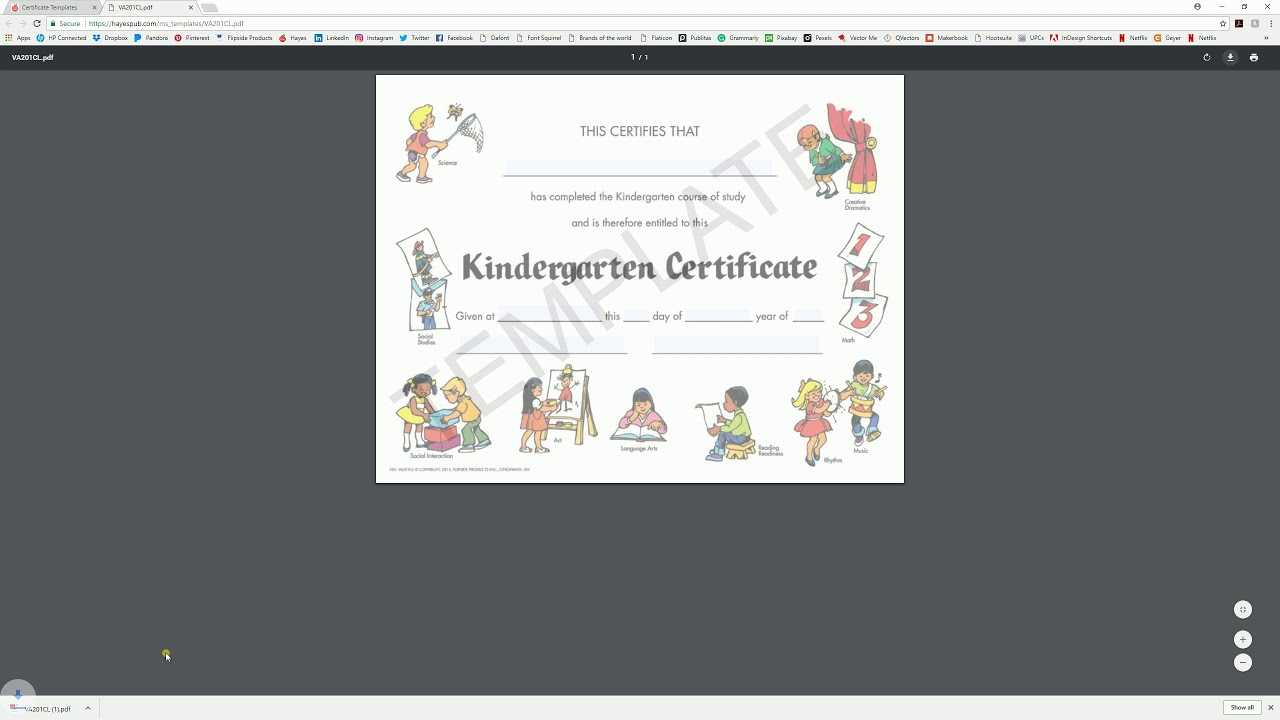 Download And Edit With System Viewer - Hayes Certificate For Hayes Certificate Templates