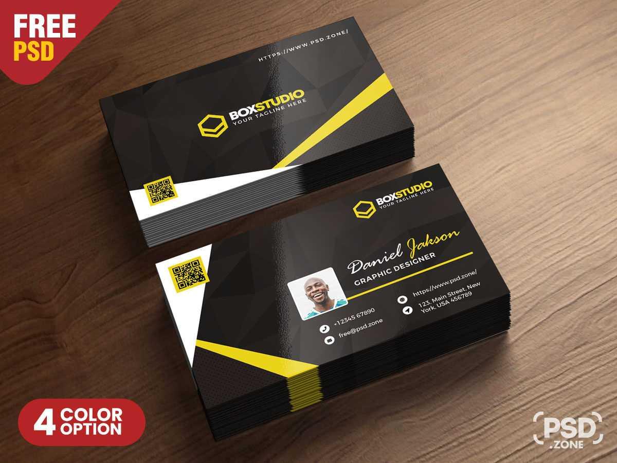 Download Creative Business Card Template Psd For Free With Regard To Creative Business Card Templates Psd