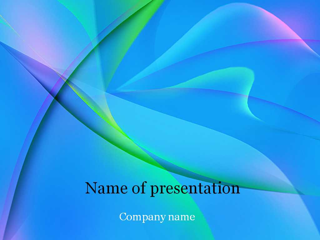 Download Free Blue Fantasy Powerpoint Template For Presentation With Regard To Microsoft Office Powerpoint Background Templates