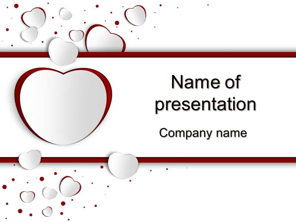 Download Free Free Valentine's Day Powerpoint Templates For with regard to Valentine Powerpoint Templates Free