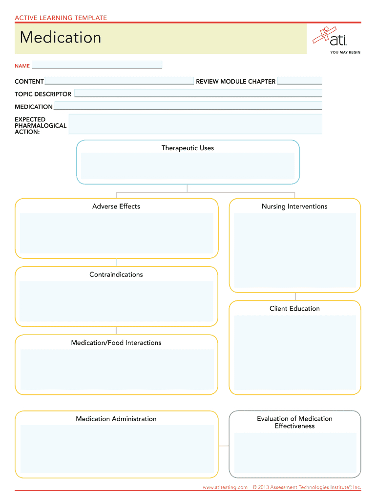 Drug Card Template - Fill Online, Printable, Fillable, Blank In Med Card Template