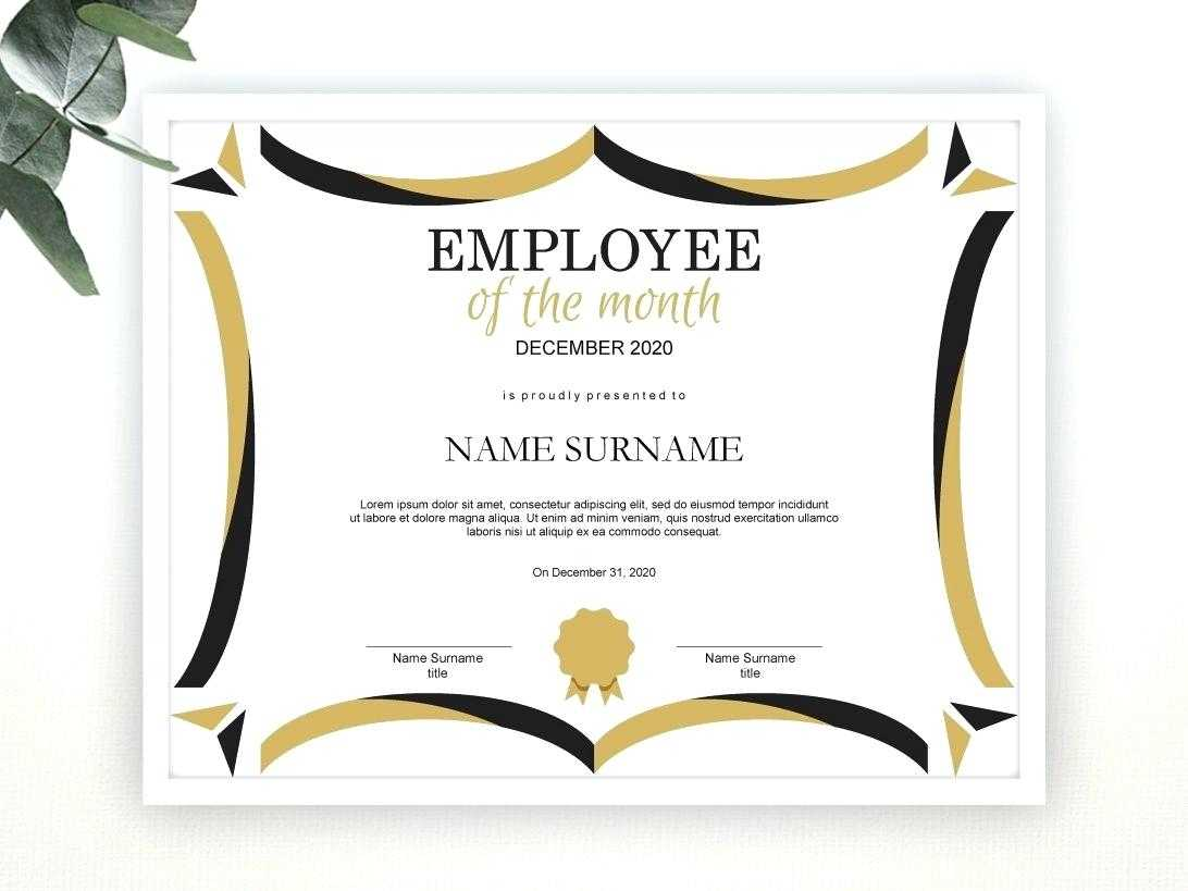 Editable Award Template – Bestawnings Inside Funny Certificates For Employees Templates