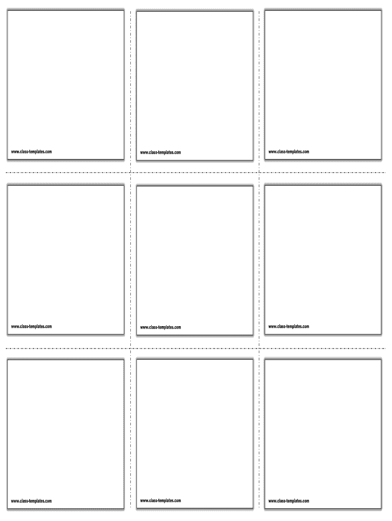 Editable Flashcard Template Word - Fill Online, Printable Intended For Free Printable Flash Cards Template