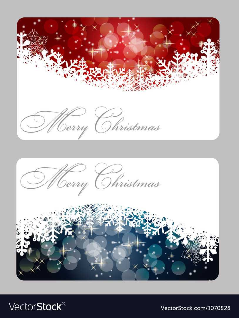 Elegant Christmas Card Template For Christmas Photo Cards Templates Free Downloads