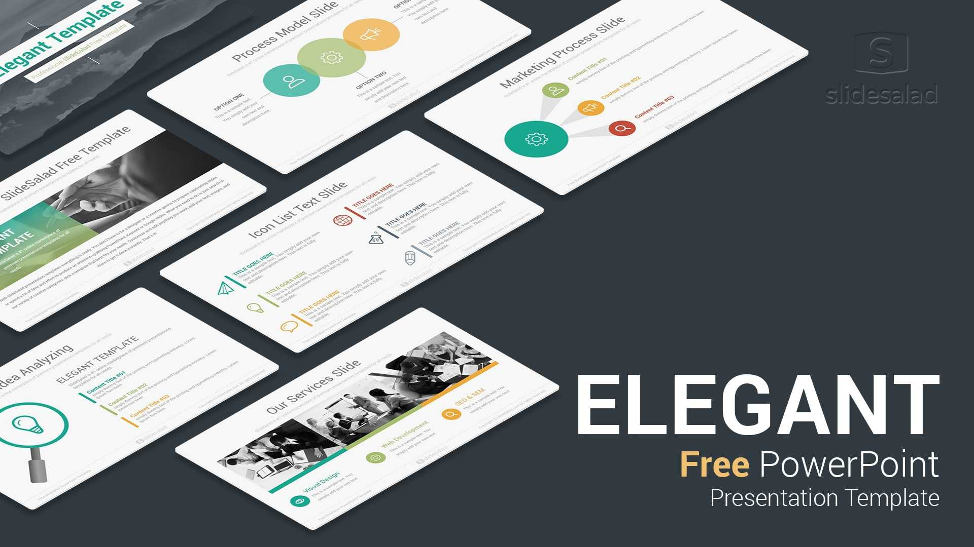 Elegant Free Download Powerpoint Templates For Presentation Regarding Powerpoint Sample Templates Free Download