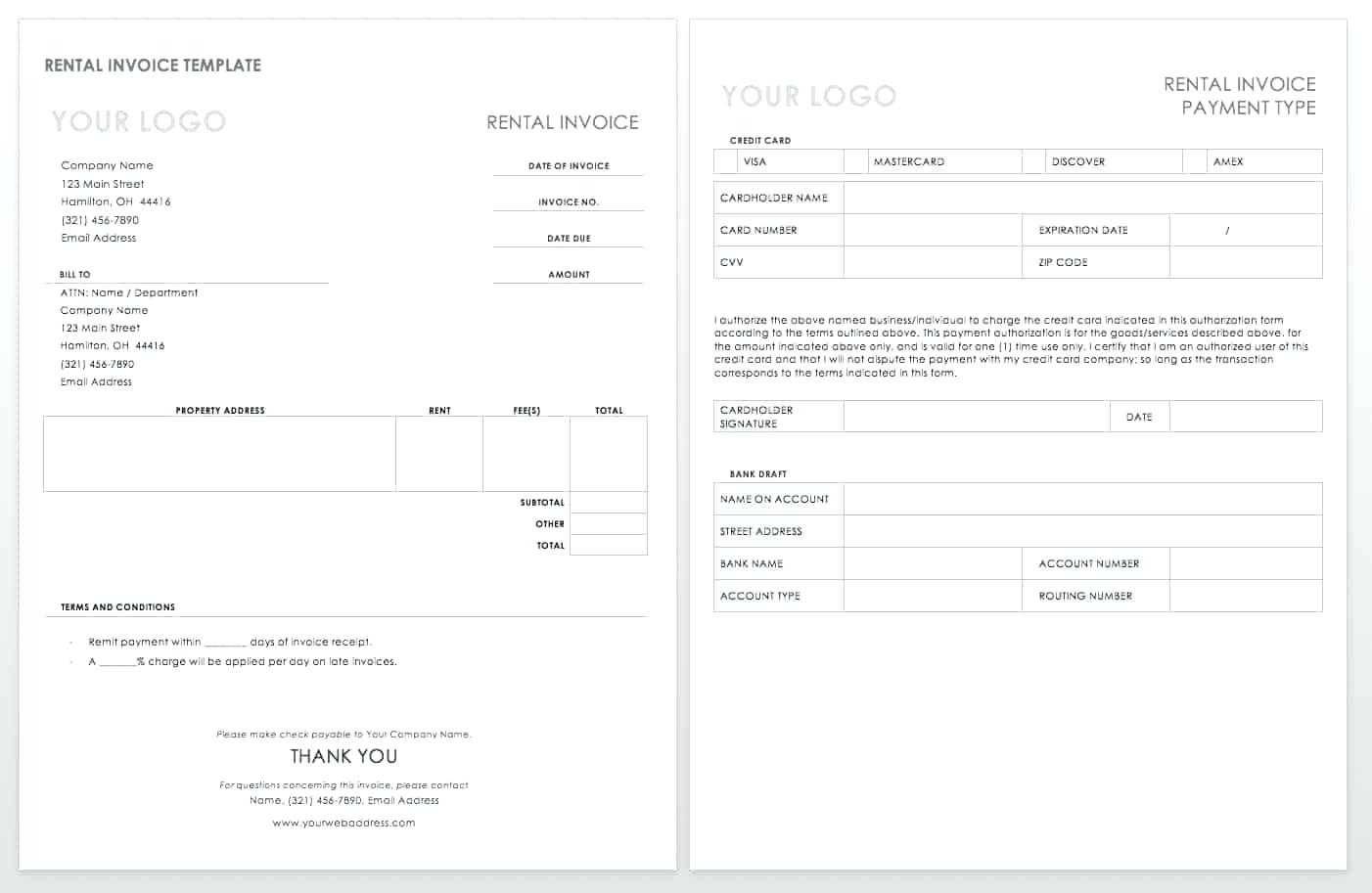 Export Invoice Template – Vmarques Intended For Chiropractic Travel Card Template