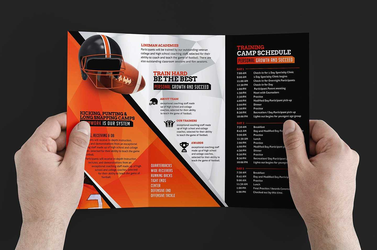Free 12+ Training Brochure Designs In Word | Psd | Ai | Eps With Regard To Training Brochure Template