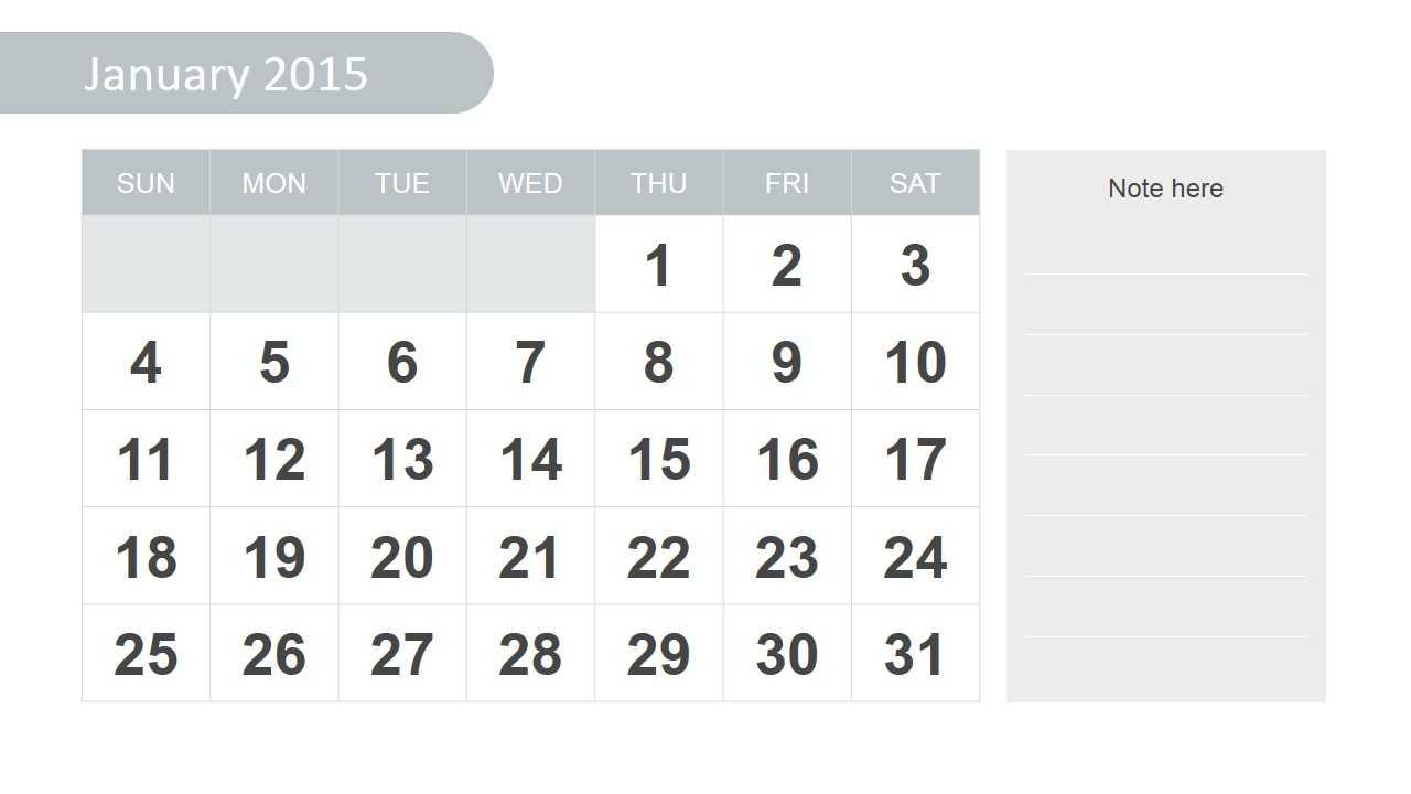 Free 2015 Calendar Template For Powerpoint Inside Powerpoint Calendar Template 2015