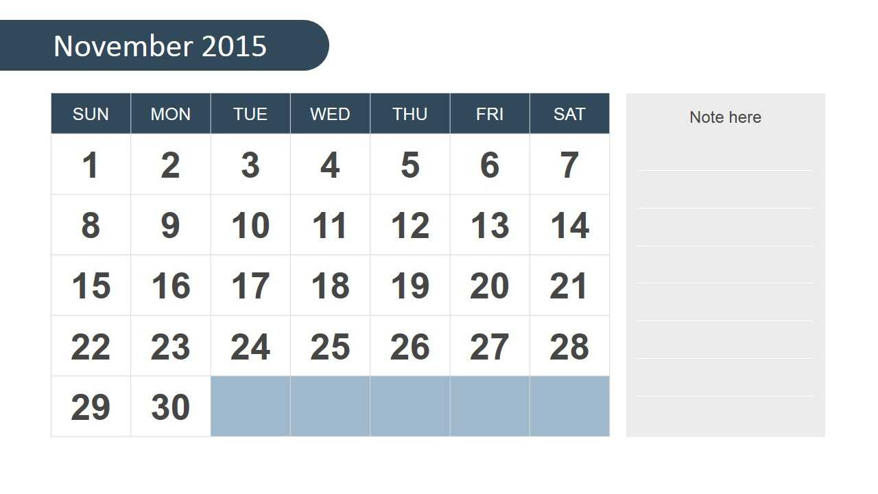 Free 2015 Calendar Template For Powerpoint Intended For Powerpoint Calendar Template 2015