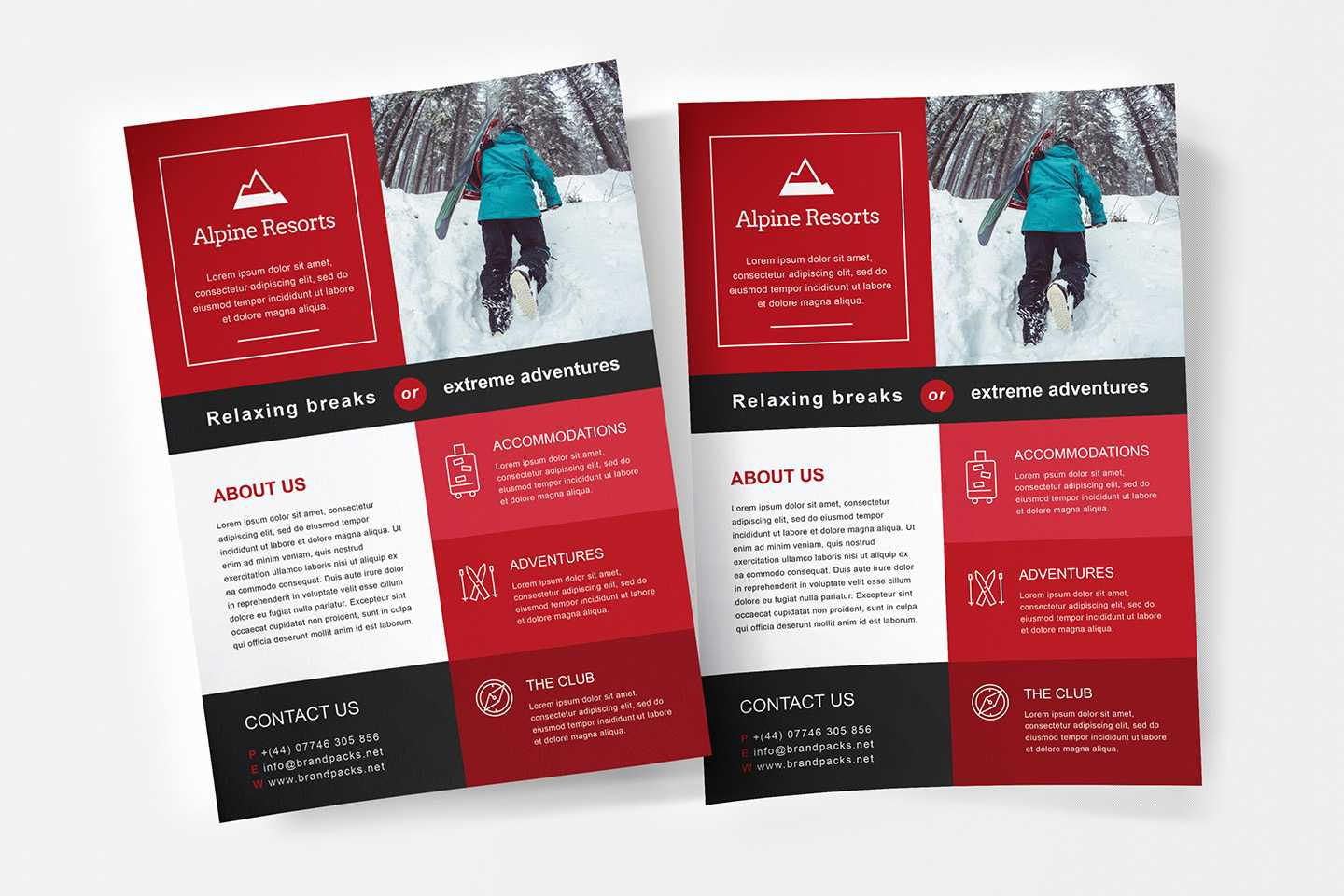Free A4 Poster Template – Psd, Ai & Vector – Brandpacks With Illustrator Brochure Templates Free Download