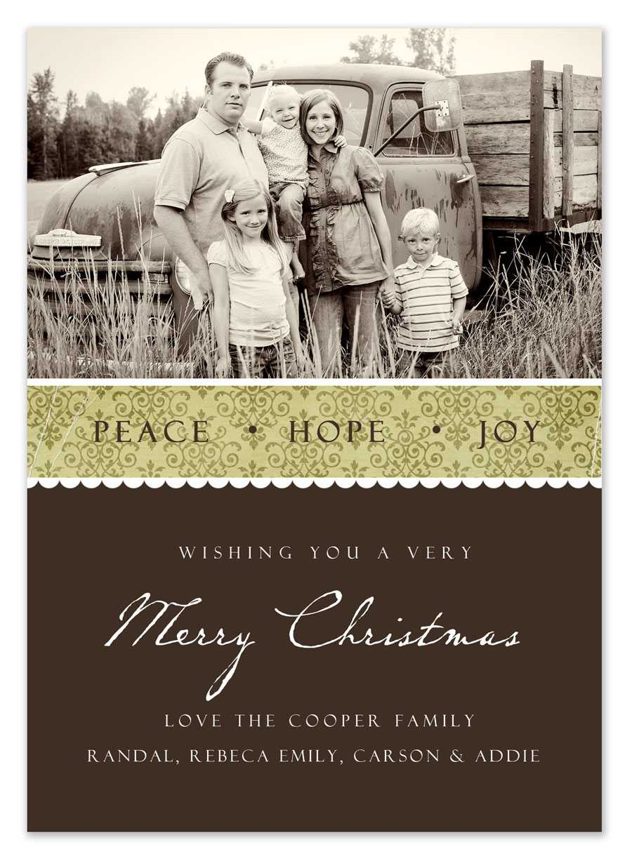 Free Christmas Card Templates With Free Christmas Card Templates For Photographers