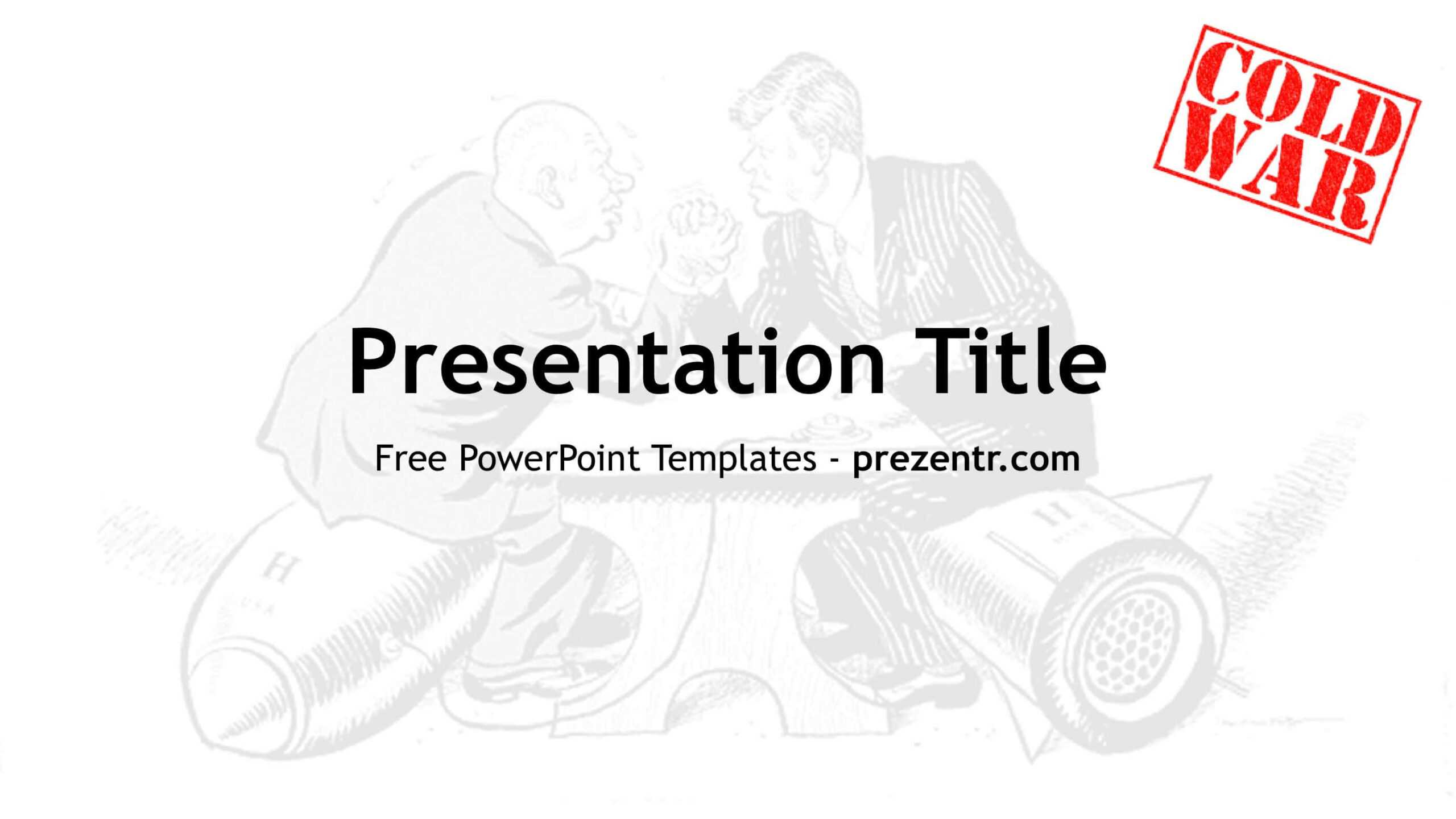 Free Cold War Powerpoint Template - Prezentr Ppt Templates In Powerpoint Templates War