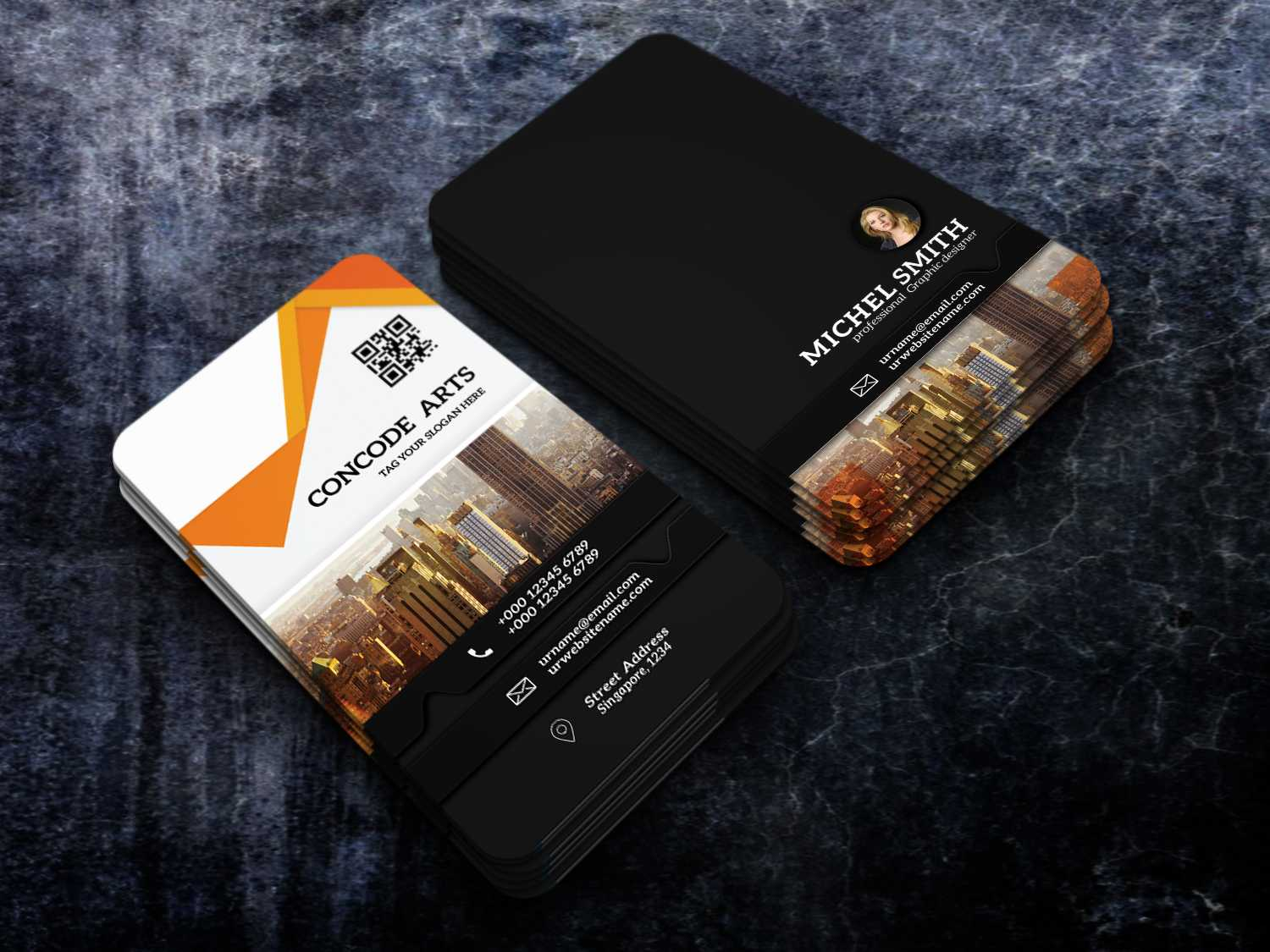 Free Download Professional Building Construction Business Throughout Construction Business Card Templates Download Free