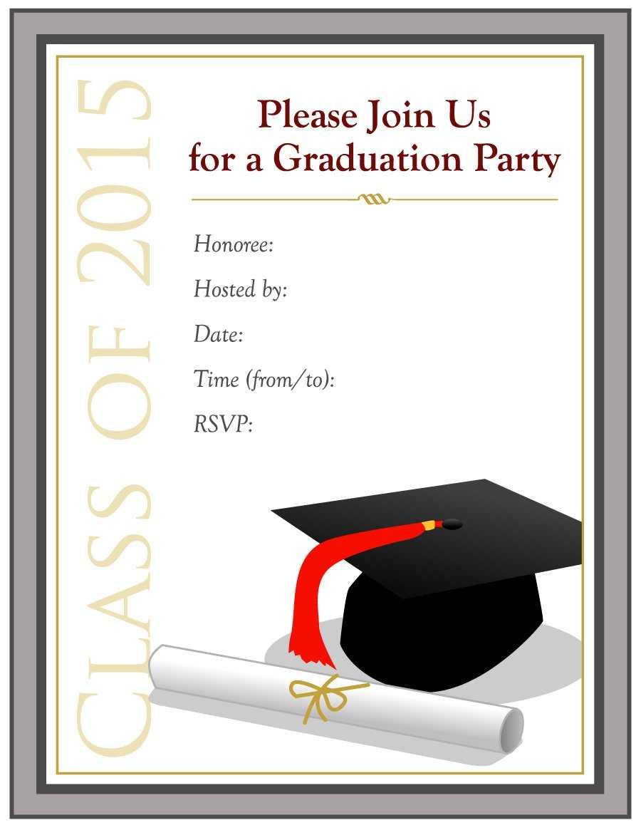 Free Graduation Templates - Karan.ald2014 Inside 5Th Grade Graduation Certificate Template