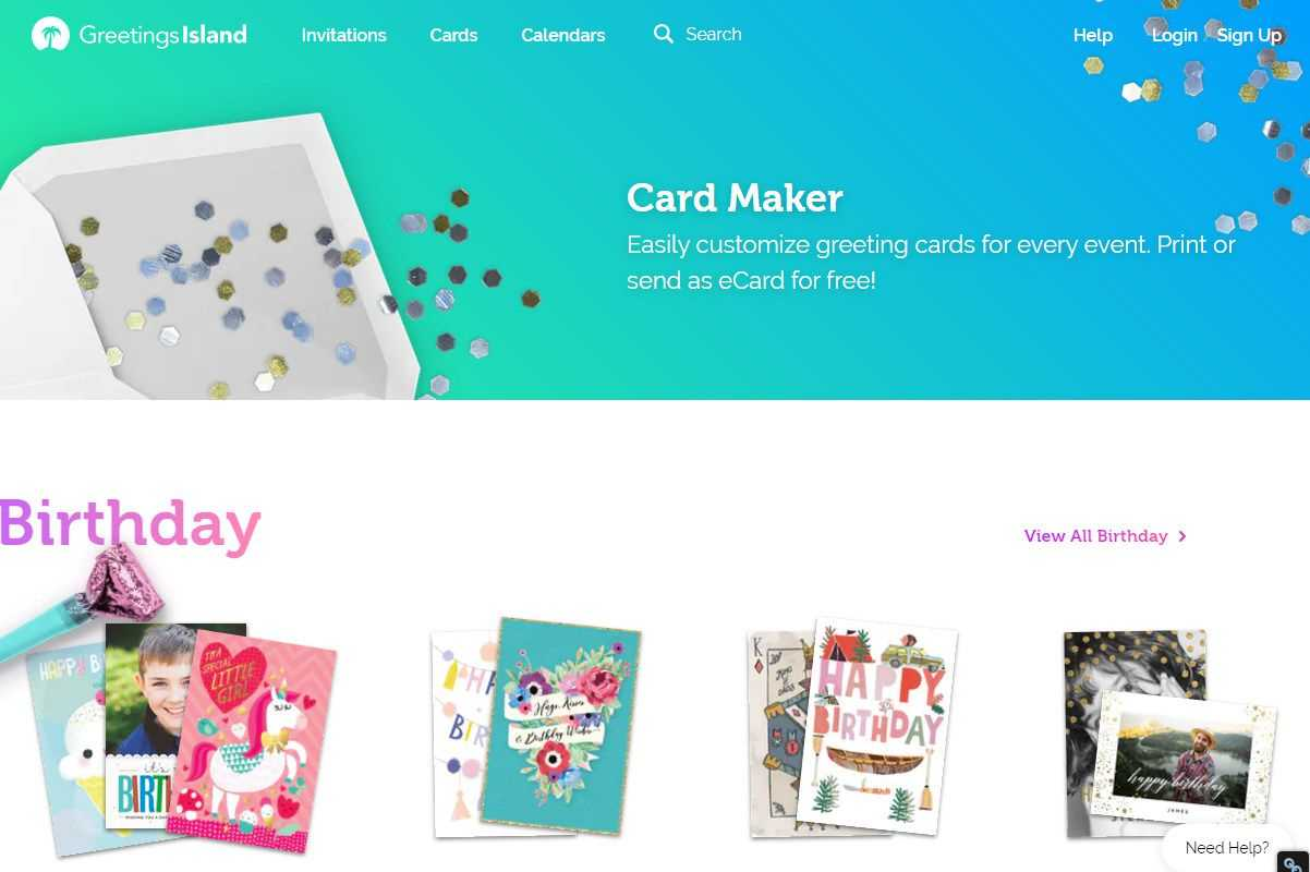 Free Greeting Card Templates For All Occasions Regarding Template For Cards To Print Free