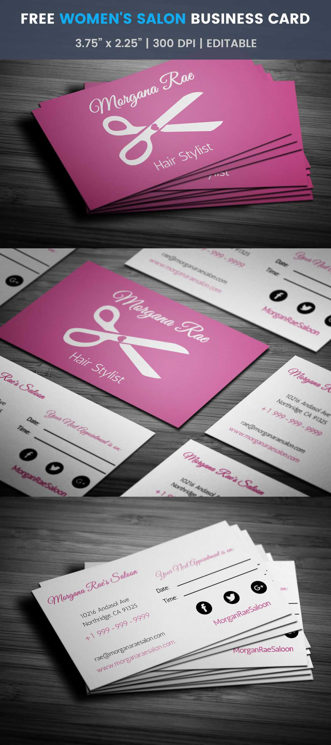 Free Hairstylist Business Card Template On Student Show With Regard To Hairdresser Business Card Templates Free