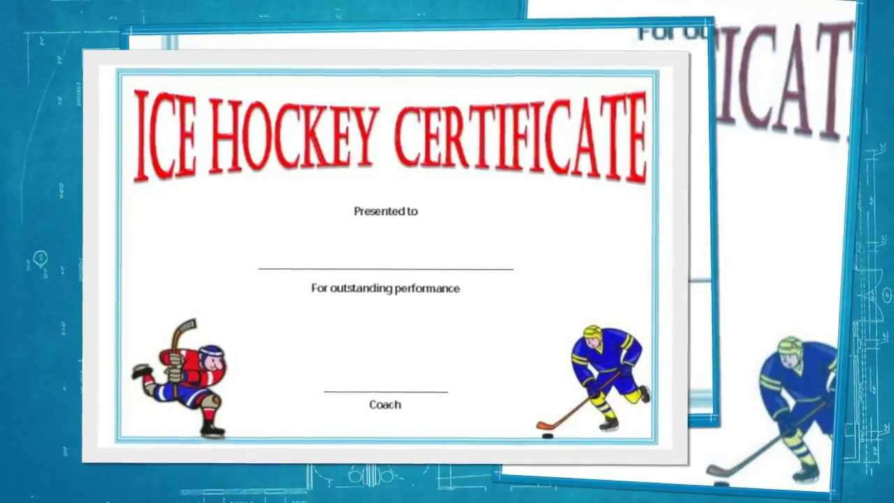 Free Hockey Certificate Templates For Download - Youtube With Regard To Hockey Certificate Templates
