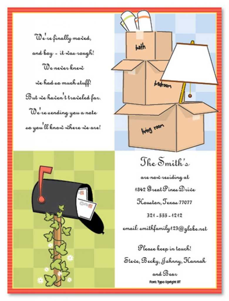 Free Housewarming Evites - Karan.ald2014 For Free Housewarming Invitation Card Template