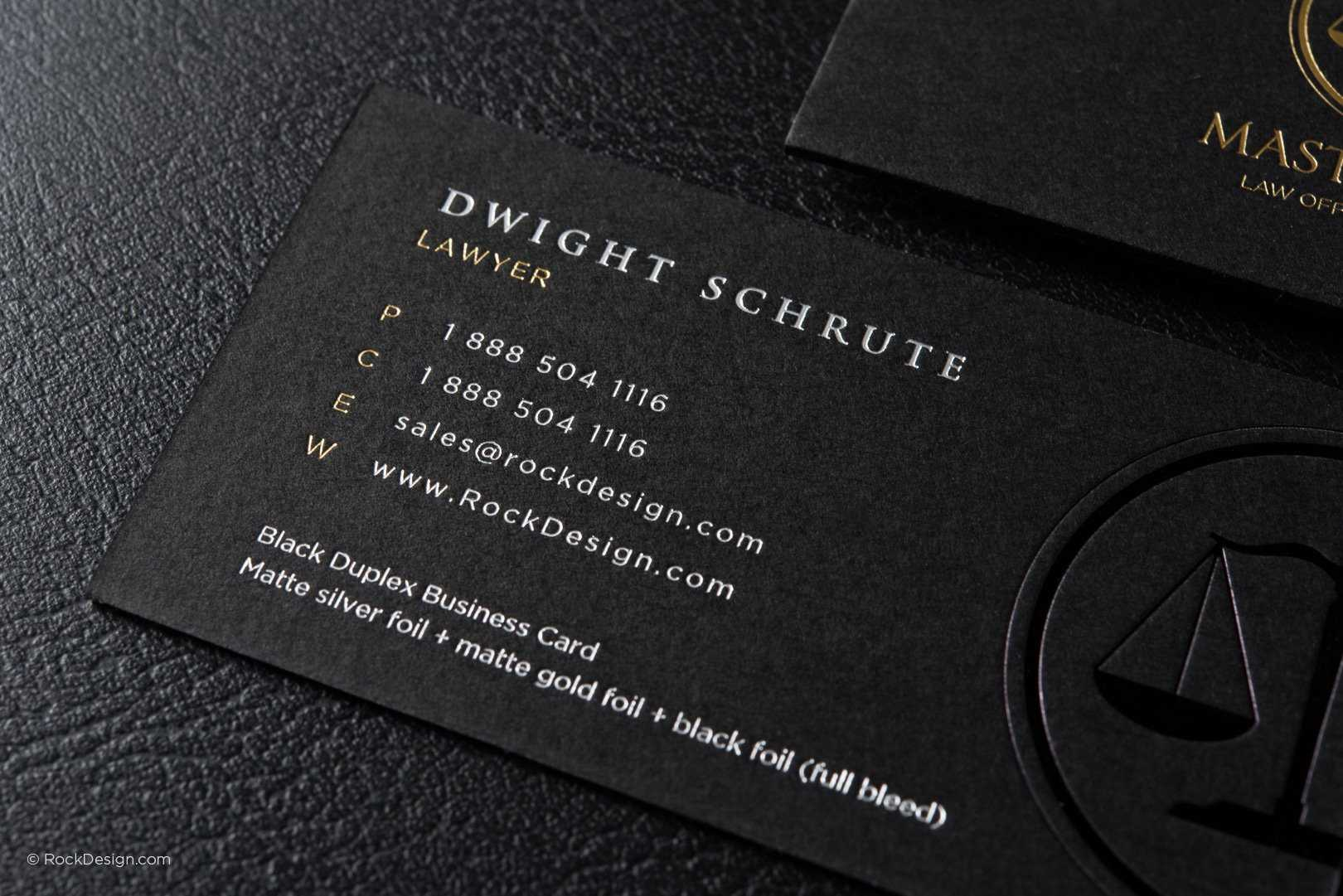 Free Lawyer Business Card Template | Rockdesign Intended For Legal Business Cards Templates Free