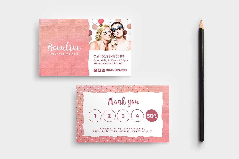 Free Loyalty Card Templates - Psd, Ai & Vector - Brandpacks Throughout Membership Card Template Free