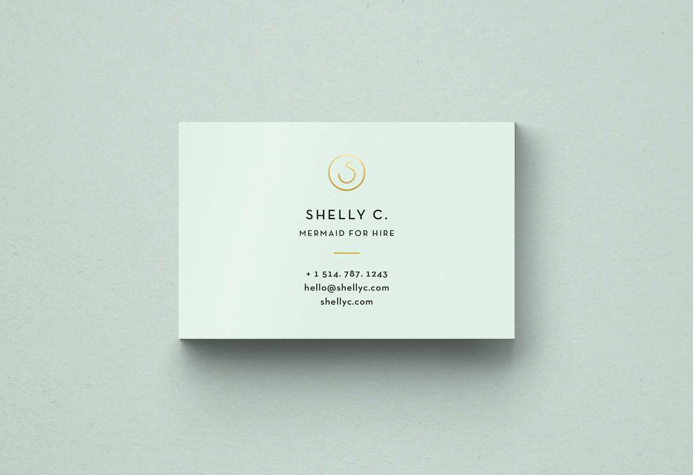 Free Minimal Business Card Template Throughout Free Bussiness Card Template