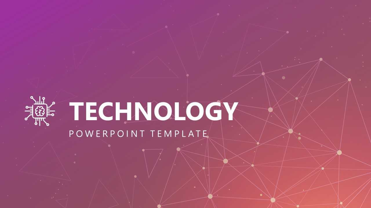Free Modern Technology Powerpoint Template With Powerpoint Templates For Technology Presentations