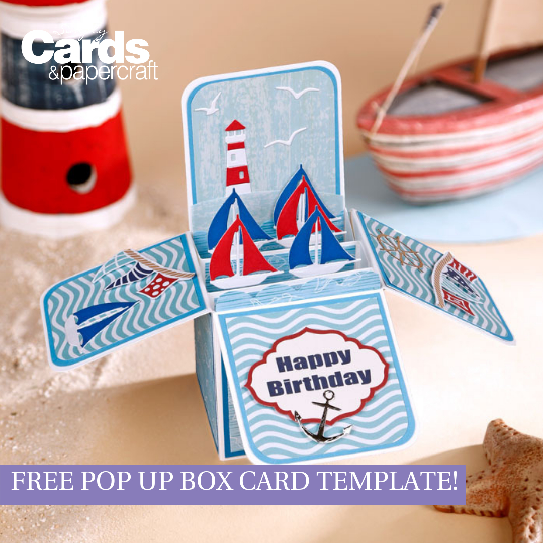 Free Pop Up Box Card Template - Simply Cards & Papercraft With Regard To Pop Up Box Card Template