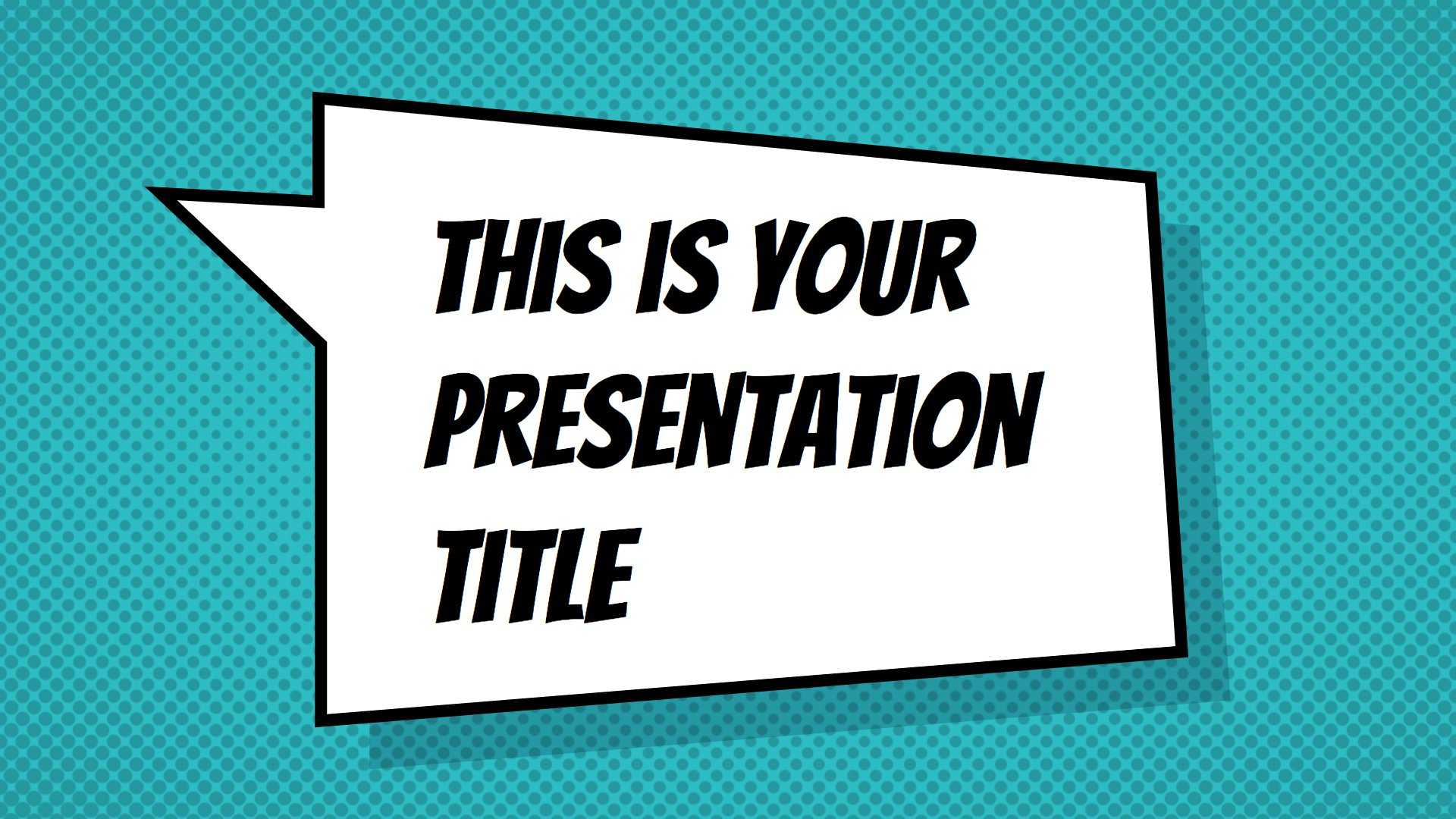 Free Powerpoint Template Or Google Slides Theme With Intended For Powerpoint Comic Template