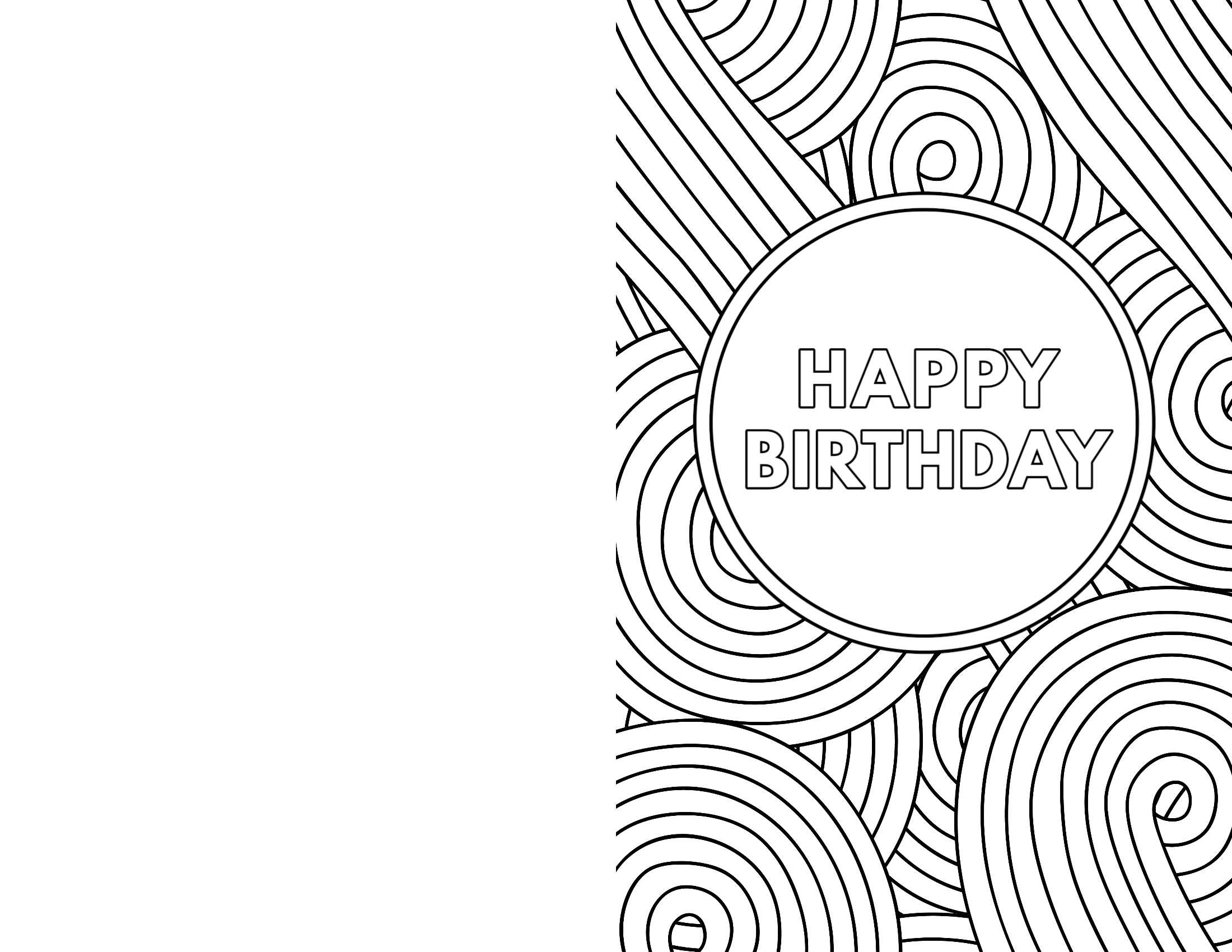 Free Printable Birthday Cards - Paper Trail Design Pertaining To Foldable Birthday Card Template