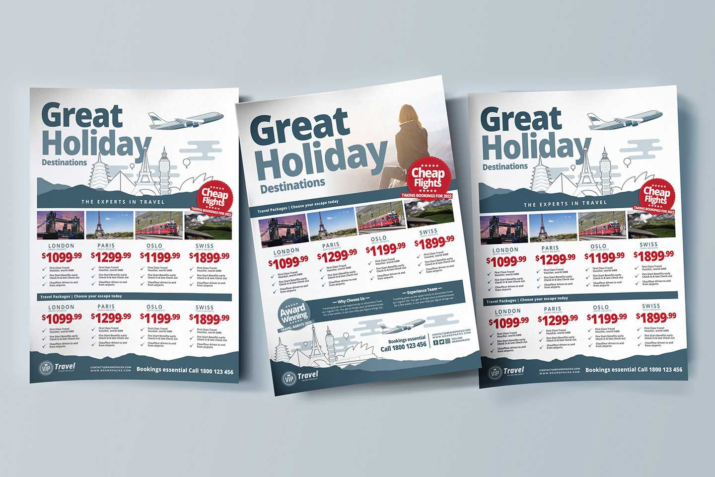 Free Travel Agency Poster & Brochure Template In Psd, Ai In Travel And Tourism Brochure Templates Free