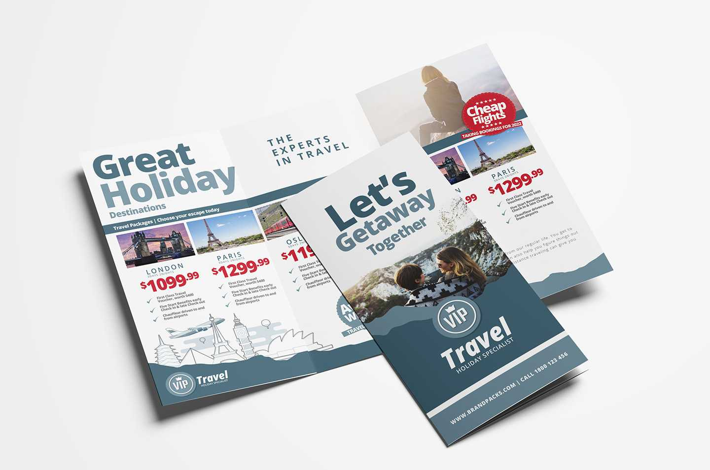 Free Travel Agency Poster & Brochure Template In Psd, Ai With Regard To Travel And Tourism Brochure Templates Free