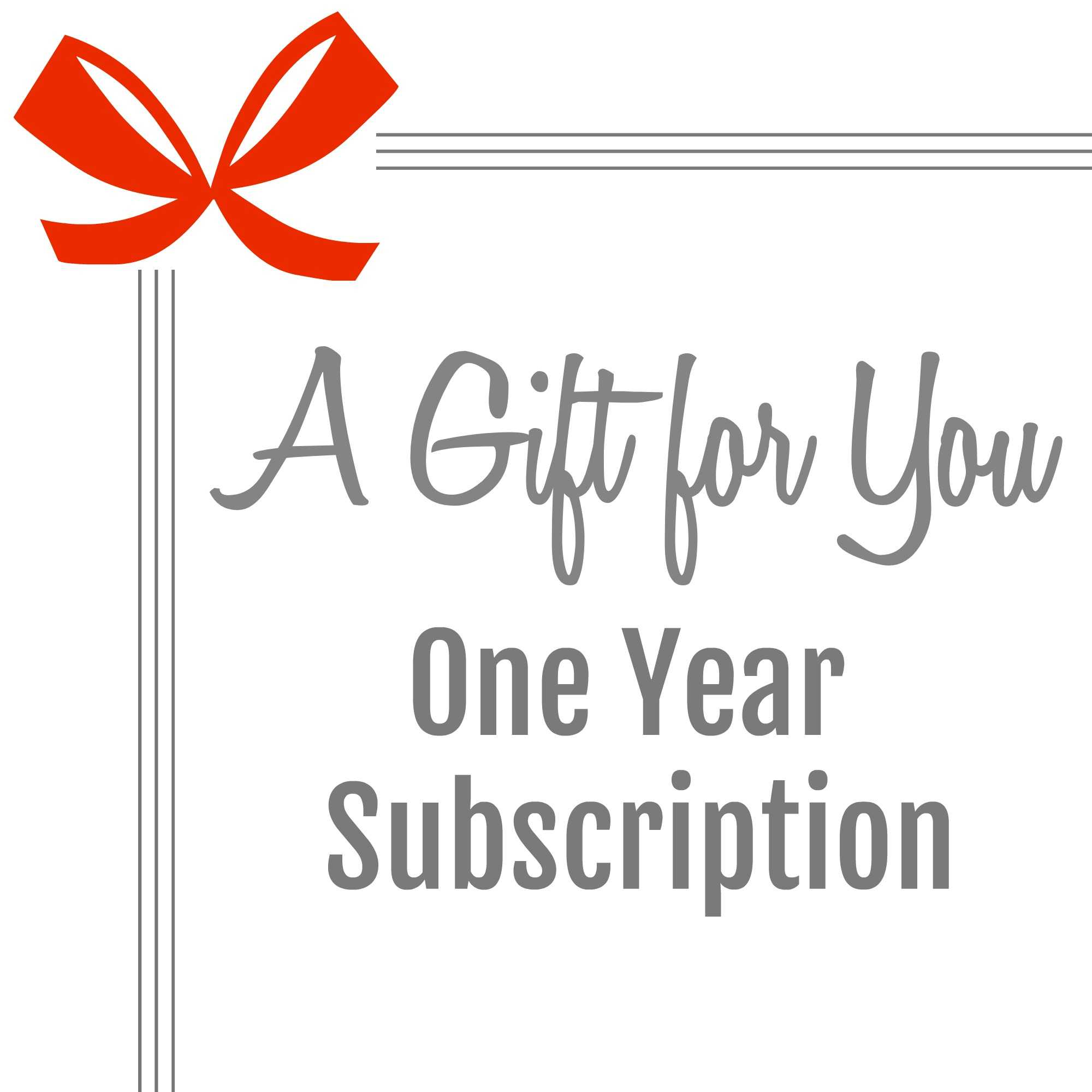 Gift A Magazine Subscription With Our Free Printable Cards Regarding Magazine Subscription Gift Certificate Template