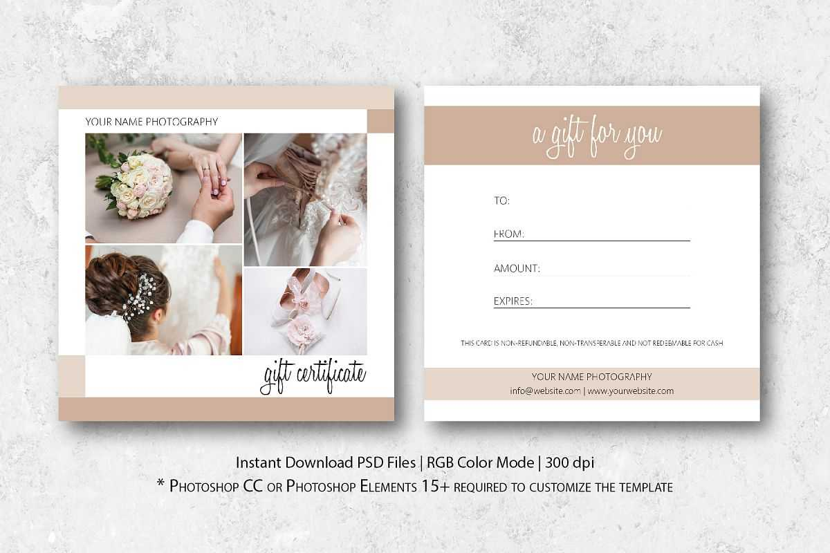 Gift Cards For Photographers - Karan.ald2014 For Photoshoot Gift Certificate Template