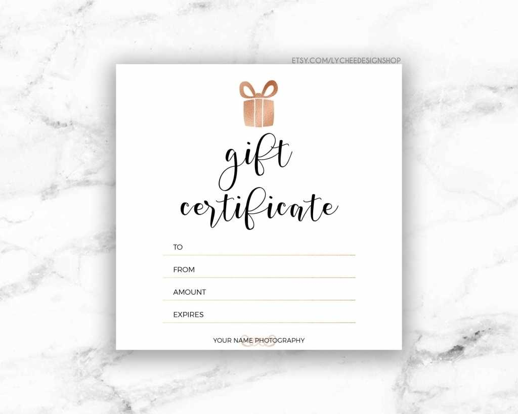 Gift Certificate Template | Free Download Template Design Throughout Free Photography Gift Certificate Template