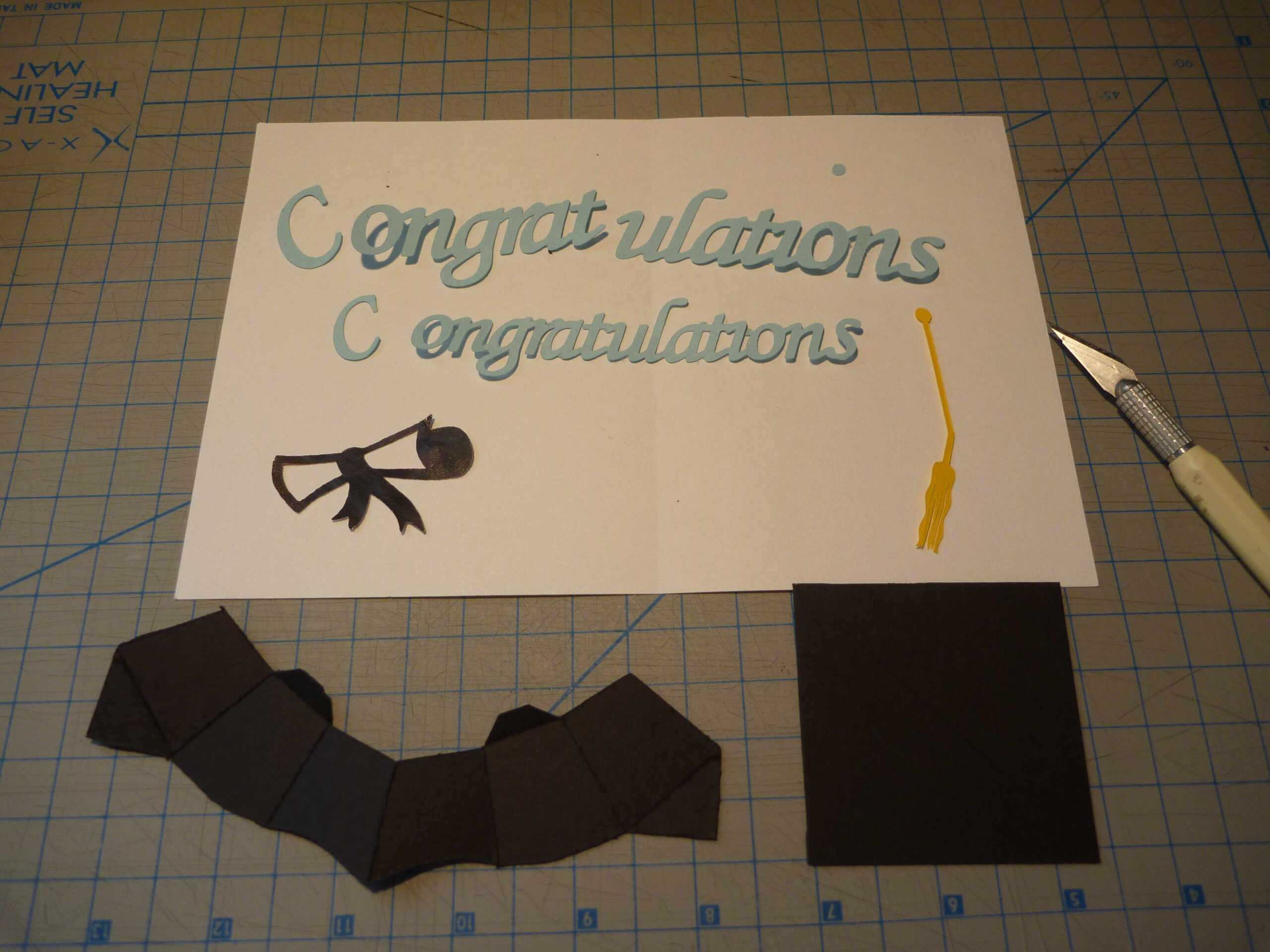 Graduation Pop Up Card: 3D Cap Tutorial – Creative Pop Up Cards Inside Graduation Pop Up Card Template