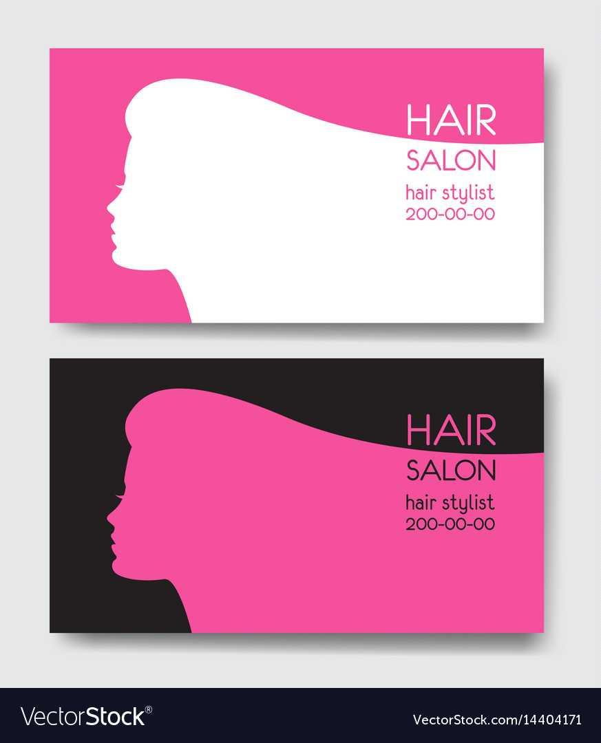 Hair Salon Business Card Templates With Beautiful Regarding Hair Salon Business Card Template