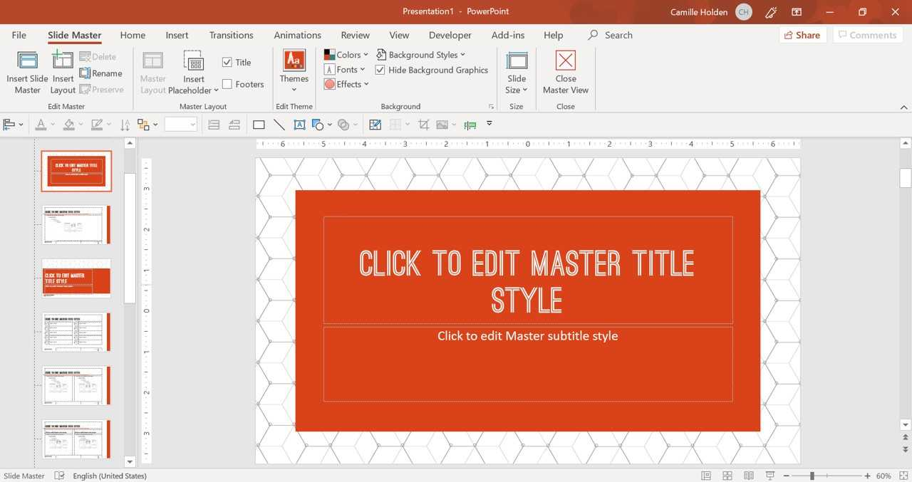 How To Create A Powerpoint Template (Step By Step) Inside Powerpoint Default Template