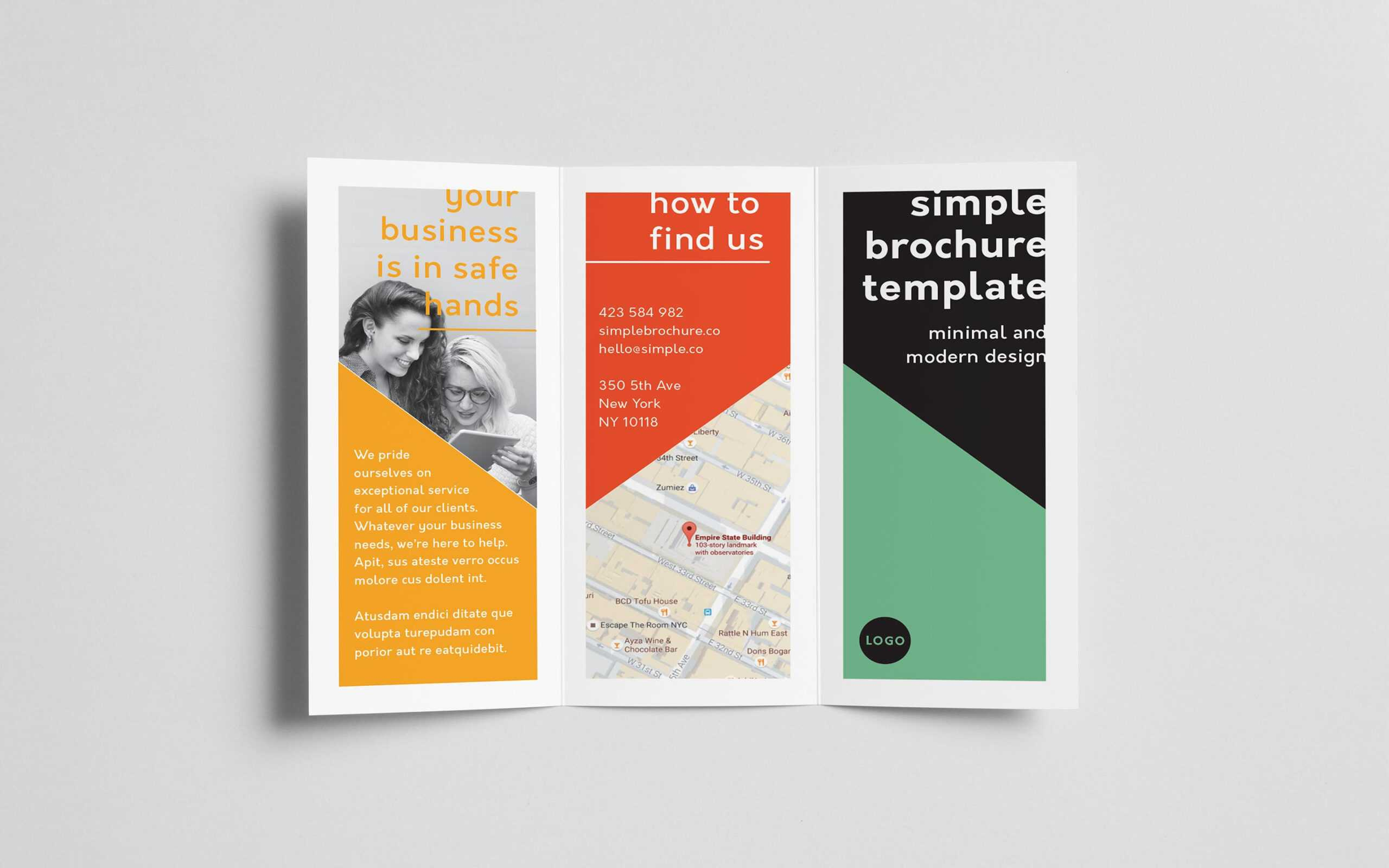 How To Create A Trifold Brochure In Adobe Indesign For Adobe Indesign Tri Fold Brochure Template