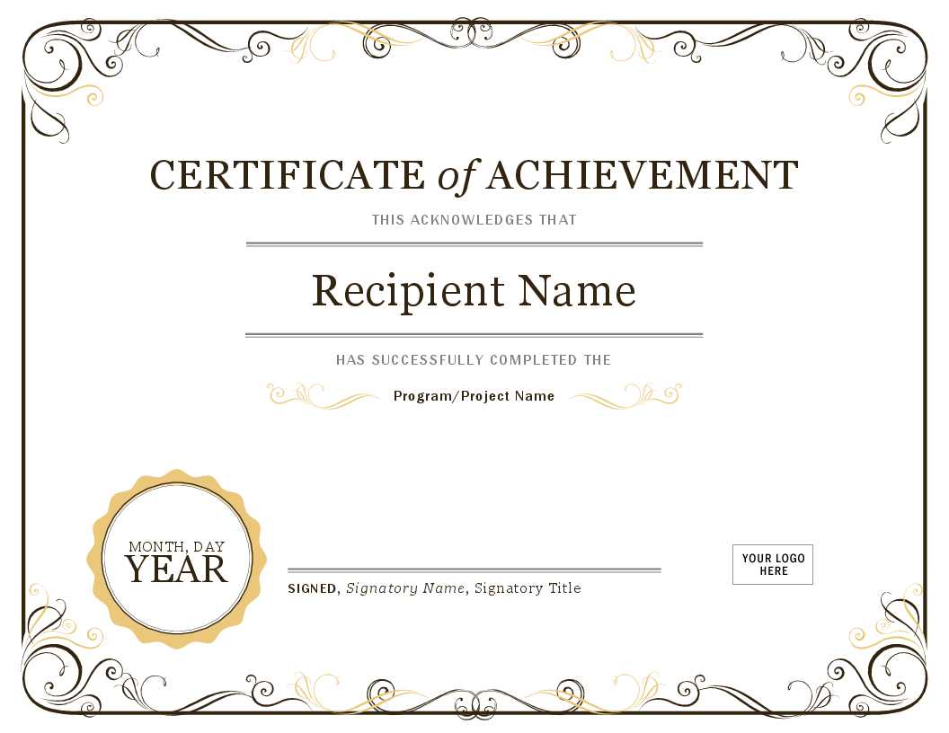 How To Create Awards Certificates - Awards Judging System Intended For Microsoft Word Award Certificate Template